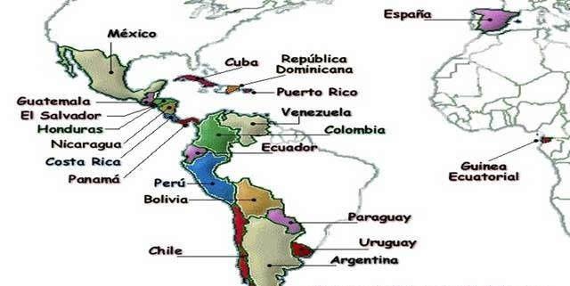 南美洲地图